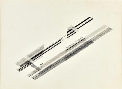 Drawing by Nasreen Mohamedi