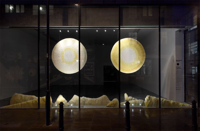 Yoca Muta, A Tale of Two Suns, Iniva Window Commission 2008. Photograph © Andy Keate