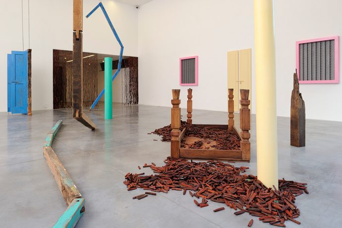 Sheela Gowda, of all people, Iniva at Rivington Place
