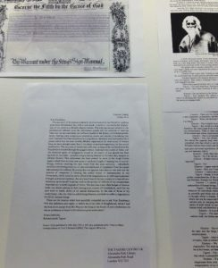 Tagore Knighthood renunciation letter