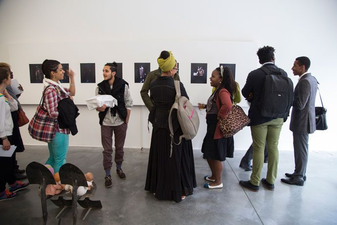 Issa Samb exhibition preview