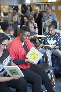 Mapping Routes through Pattern and Colour to Reach the Invisible: Reflections on the Lubaina Himid Study Day, Stuart Hall Library, 20 June 2016